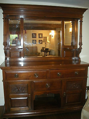 Antique Edwardian Walnut sideboard (REDUCED)