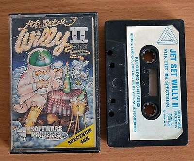 JET SET WILLY II vintage Software Projects game for Sinclair ZX Spectrum