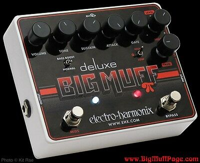 Electro Harmonix Deluxe Big Muff Pi - Guitar Effect Pedal