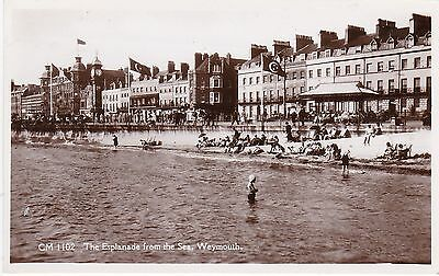 The Esplanade From The Sea, WEYMOUTH, Dorset RP
