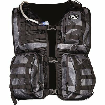 Black/Camo Klim Arsenal Vest Motocross Gear