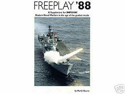 FREEPLAY 88, supplement for the SHIPWRECK modern historical naval rules