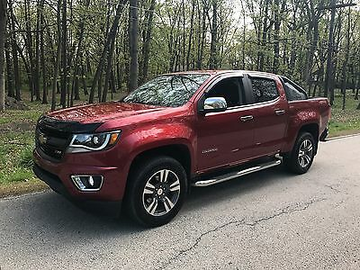 2016 Chevrolet Colorado LT Crew Cab Pickup 4-Door 2016 Chevy Colorado Fully Loaded! LT 4x4 Leather Crew Cab