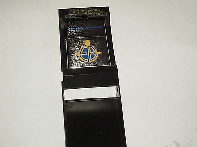 Vintage Zippo Cigarette Lighter Never Used General Dynamics Electric Boat w Box