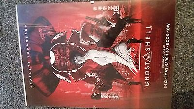 Ghost in The Shell - IMAX Theatres Original Promo Poster - A4
