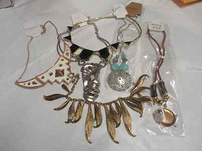 New Chunky Assorted Necklaces. Free Postage..