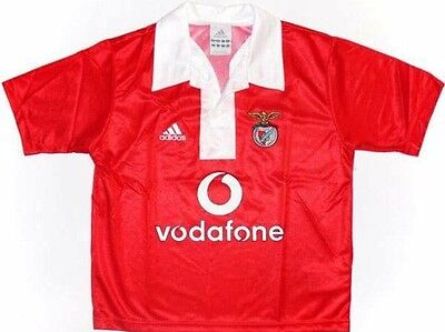 Adidas Benfica 2004/05 Kids Centenary Home Shirt BNWT