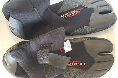 O'Neill 3mm booties, size 10