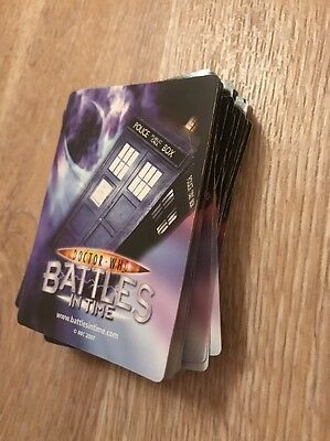Doctor Who Battles In Time Cards