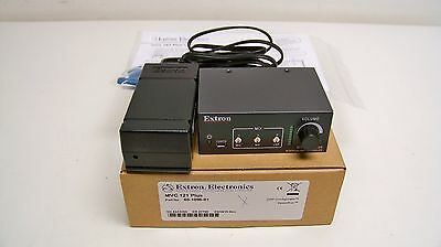 Extron MVC 121 Plus, 60-1096-01 Three Input Stereo Mixer with DSP (G3)
