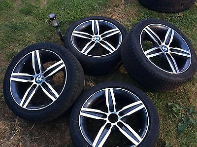 """BMW 1 Series 17"""" Alloy Wheels And Tyres"""