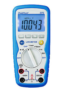 peaktech 2175 LCR Gauge Inductance Capacity Micro Henry Farad Ohm Measurement