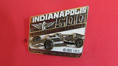 """The 75th Indianapolis 500 Pin - May 25, 1991 """"The Greatest Spectacle In Racing"""""""