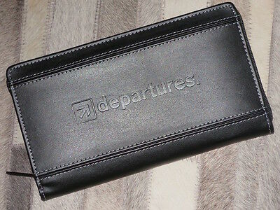 Collectible TRAVEL WALLET with DEPARTURES Logo - Brand New!
