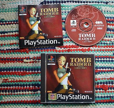 Tomb Raider 2 / Ps1 / Pal / Fr / Complet