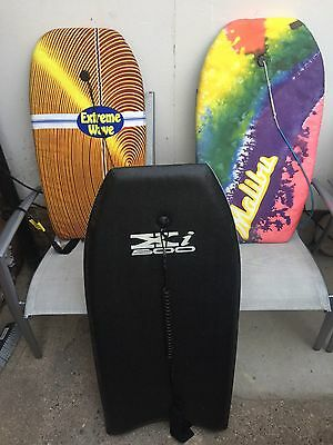 3 X Bodyboards OR Boogie Boards For Adult & Children
