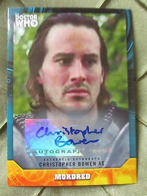 Doctor Who Signature Series CHRISTOPHER BOWEN as MORDRED Autograph