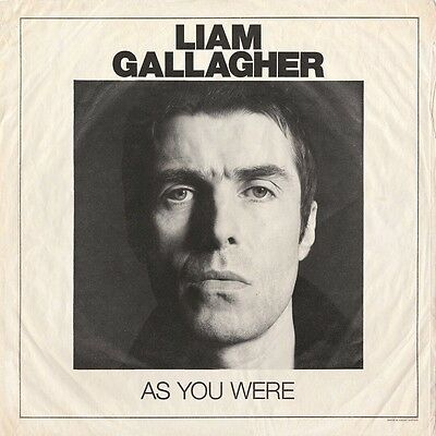Liam Gallagher As You Were Limited 180 Gram White Vinyl LP x 1