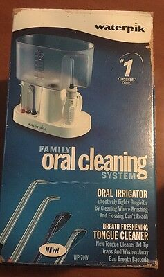 Waterpik WP-70W Family Oral Dental Jet Cleaning System