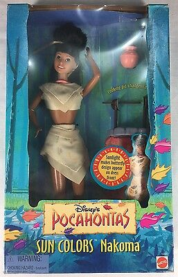 Pocahontas sun colors Nakoma doll from Mattel Barbie