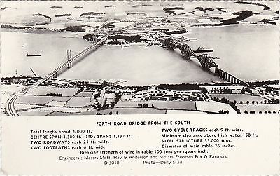 Forth Road Bridge From The Air, SOUTH QUEENSFERRY, West Lothian RP