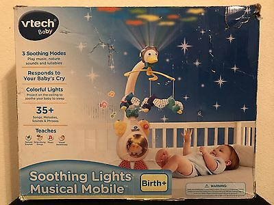 VTech Baby Soothing Lights Musical Mobile - Projector Sounds Lullabies NIB NEW