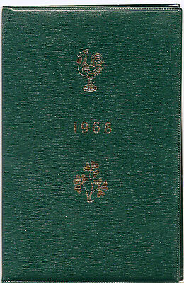 FRANCE v IRELAND 1968 SPECIAL EDITION RUGBY PROGRAMME -1st Grand Slam for France