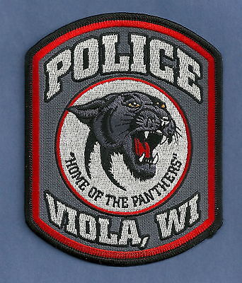 Viola Wisconsin Police Patch
