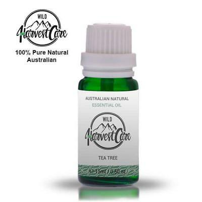100% PURE PREMIUM GRADE TEA TREE ESSENTIAL OIL (15ml) – Aromatherapy Quality