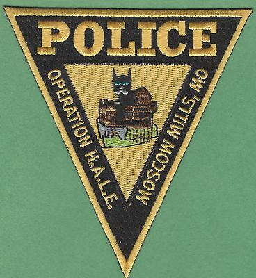 Moscow Mills Missouri Operation Hale Police Patch
