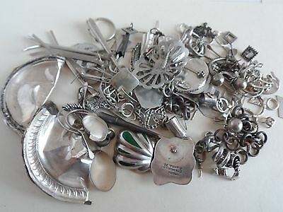 Sterling Silver 925 1/2 Pound Scrap Lot Clean 228g 8oz Guaranteed Weight