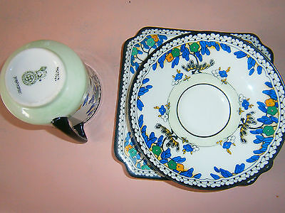 Royal Doulton Trio ,hand Painted In Very Good Order