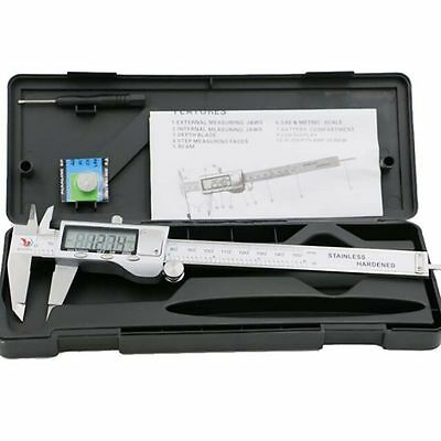"150mm/6"" stainless steel Electronic Digital Vernier Caliper Gauge Micrometer"