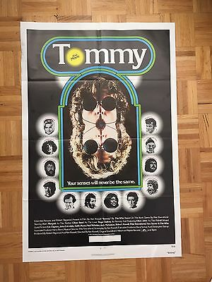 Tommy 1975 Movie Poster Original One Sheet(good Condition)