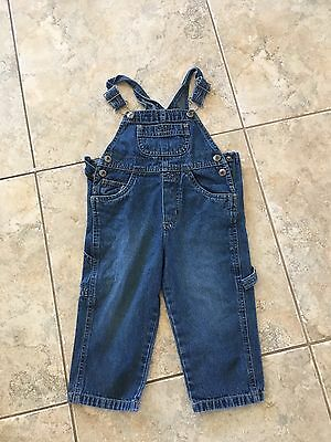 Baby Toddler Boy Arizona Brand Denim Overalls 2t