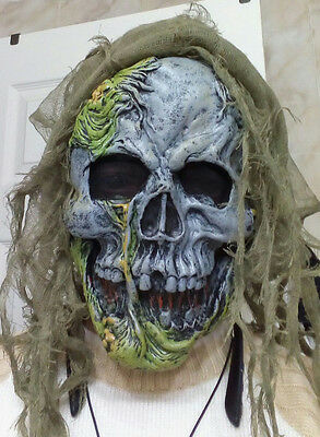 Halloween Party Scary Skeleton Death Horror Costume Face Mask plus Hands gloves