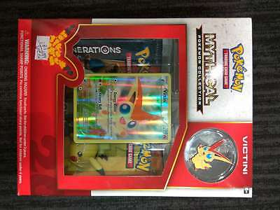 Pokemon TCG Mythical Collection victini Pin Box