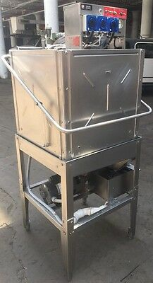 Knight KLE175GT Commercial Restaurant Upright Pass Though Dishwasher