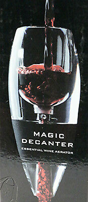 New Magic Decanter Red Wine Essential Aerator Set