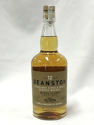 Deanston 12 Years  Old Highland Single Malt Scotch Whisky 700Ml Boxed