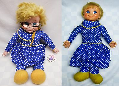 """Family Affair Collectible Mrs Beasley 20"""" Pull String Replica Doll New Clean"""