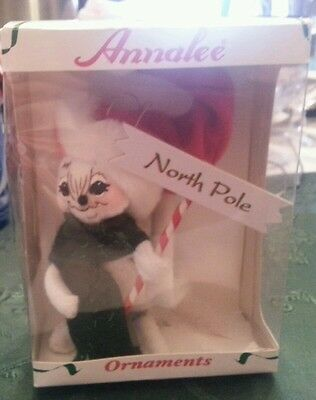Annalee North Pole Mouse