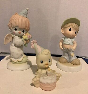 Lot Of Precious Moments Figures No Boxes