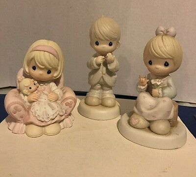 Precious Moments Figures Lot#3 No Boxes