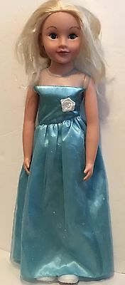 """Uneeda Wispy Walker Doll """"Walk With Me"""" 27 Inches Tall Doll Gently Used"""