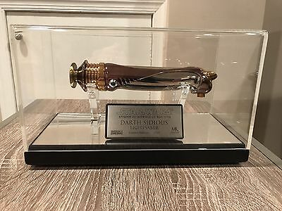 2005 Star Wars Master Replicas- DARTH SIDIOUS- EP III ROTS LE Lightsaber # 2535