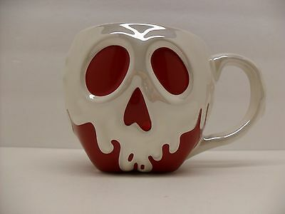 "Disney Store Snow White Evil Queen ""Poison Apple Mug"" Pearlized & Candy Colored"