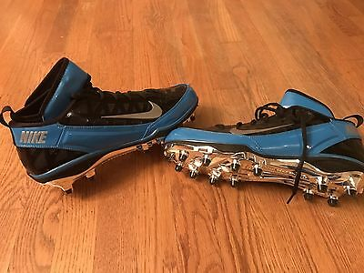 Carolina Panthers Game Issued Deangelo Williams Promo Nike NFL Shoes