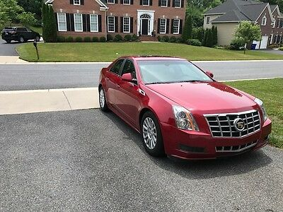 2012 Cadillac CTS  2012 cadillac cts Luxury 54K miles. No reserve auction!