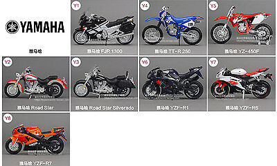 1:18 Mini Yamaha motorcycle model A variety of options, please leave a message